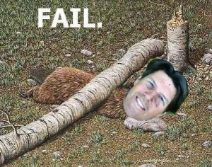 Fail. You lose Poss!