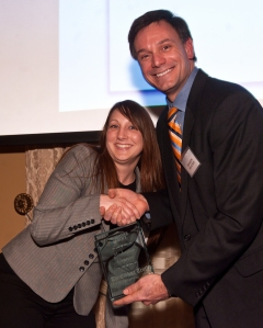 Mishanna Cramer- winner of the 2014 Customer Service Award