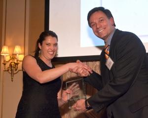 Anne Christnovich, winner of the 2014 Leading Change Award