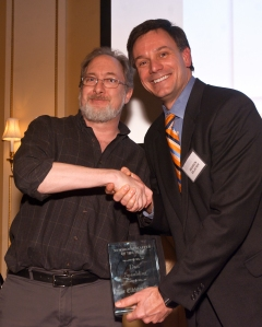 Dan Spalding- Winner of the 2014 Newsroom Staffer of the Year